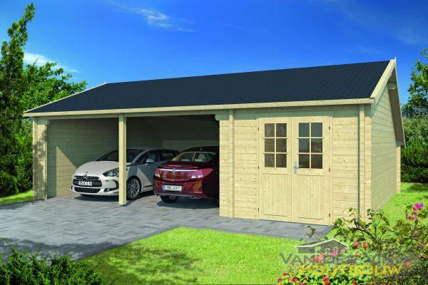 Garages / Carports Garage-Kapschuur Sigurd